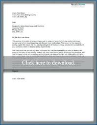 Leave Of Absence Template