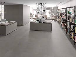 inspire concrete tile flooring the best at italian stone dublin great value nassau collection fixer upper industrial look v over on slab effect laminate