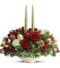 adding festive touches like holiday centerpieces and flower arrangements is another great way to decorate your home try adding flowers christmas ideas l66