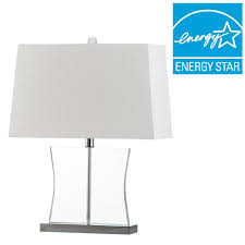 hampton bay mix match clear acrylic square accent table