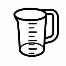 計量カップシルエット イラストの無料ダウンロードサイトシルエットac