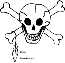 Small Picture halloween coloring pages Halloween Skeleton Coloring Pages Free