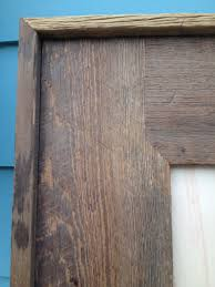 best way to finish old barn boards barn boards