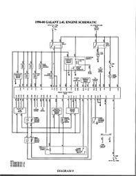 looking for a stereo wiring diagram for galant fixya from autozone com