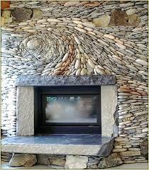 river rock backsplash cool stone and rock kitchen that wow river