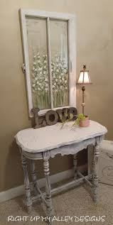 distressed white table. Old Painted Table,shabby Chic Decor,painted Furniture,white Occasional Table ,distressed Distressed White E
