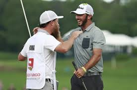 Max homa (usa) celebrates with the trophy after the final round of the wells fargo championship golf tournament at quail hollow club. Homa Returns From Low Place To Win First Pga Tour Event Sports Theoaklandpress Com