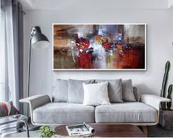 Small Picture Aliexpresscom Buy Abstract Modern large canvas wall art huge