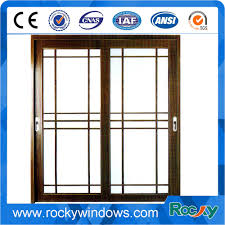 china double glazed glass door aluminum windows and door grills design with inside blinds china window glass window