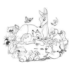 Disegni Da Colorare Bambi Disney Fredrotgans