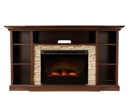 if you love a fire s cozy ambiance but not the hassling prep work try this merrick tv console with electric fireplace to warm up your living space