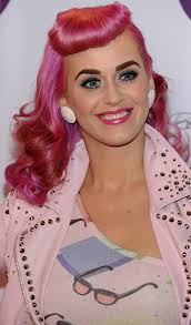 rockabilly pink hair