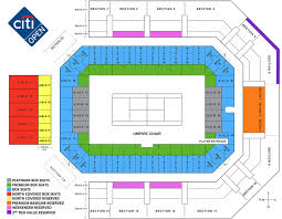 Stadium Map Citi Open