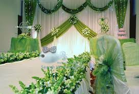 Curtains Wedding Decoration White And Apple Green Color New Design Drape Wedding Backdrop