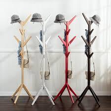 Wooden Hat Stands For Display 100 Hooks Fashion Furniture Solid Wood Living Room Coat Rack Display 20