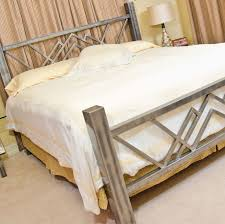stainless steel furniture designs. a stainless steel bed perfect for the humidity and insects in tropics furniture designs t