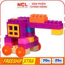 Nhựa Chợ Lớn] Đồ chơi xếp hình trẻ em 03 - M982-LR chính hãng 145,000đ