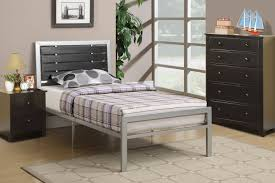 Metal Bedroom Furniture Set Poundex F9412t Black Twin Size Metal Bed Steal A Sofa Furniture
