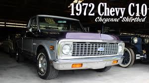 All Chevy c10 72 chevy : 1972 Chevrolet C10 Cheyenne Shortbed Pickup - YouTube