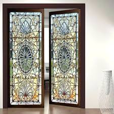 image 0 stained glass adhesive art with glue and food coloring door wall sticker stained glass adhesive