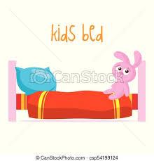 kids bed clip art. Interesting Art Kids Bed Vector Illustration In Clip Art I