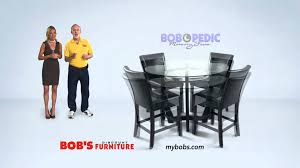 Bobs Furniture Kitchen Sets Matinee 5 Piece Dining Room Set Bobs Discount Furniture Youtube