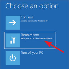 Advanced Options Windows 10 Three Ways To Access The Windows 8 Or 10 Boot Options Menu