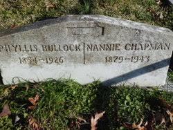 Phyllis Hicks Bullock (1854-1926) - Find A Grave Memorial