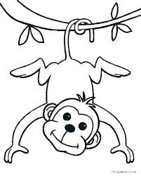 Printable Monkey Coloring Pages Special Offer Sock Monkey Coloring