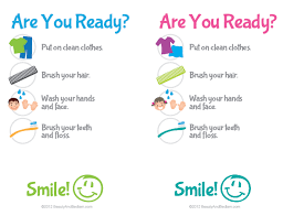 Bathroom Chart For Kids Printable Kids Bathroom Checklist Hygiene Checklist For