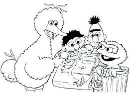 Popular Sesame Street Coloring Sheets Plus Elf The Shelf Coloring