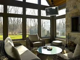 ... View in gallery Mountain sunroom design ...