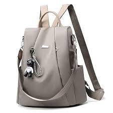 Anomcry Backpack <b>Women</b> Casual Shoulder Bag Purse <b>Fashion PU</b> ...