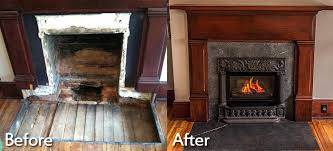 converting wood fireplace to gas before and after convert wood fireplace to gas edmonton