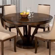 jofran webber walnut inch round dining table