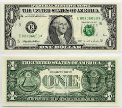 Federal One Dollar Down Ladder Note 1995 1 Bill Reserve
