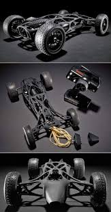 17 best ideas about rc cars rc cars and trucks rc 3d printed carbon fiber rc car powered by a rubber band