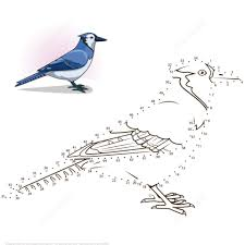 Small Picture Blue Jay dot to dot Free Printable Coloring Pages