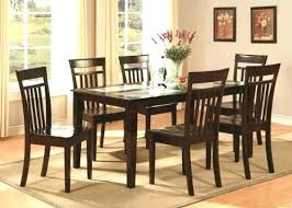 6 seat dining table 6 glass dining table and chairs best furniture dining room furniture images