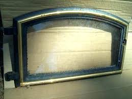 wood stove door replacement as burning for doors burner open or closed