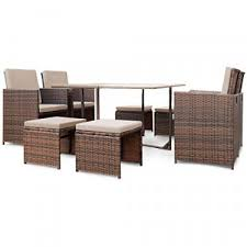 ji 9 pieces patio dining sets