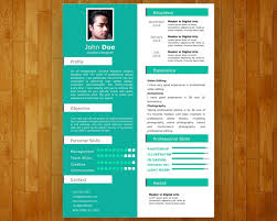 Resume Powerpoint Template Self Presentation Visual Resume Ppt