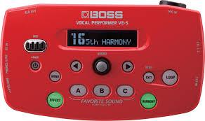 Купить <b>Boss</b> Vocal Performer VE-5 - <b>вокальный процессор</b> по ...