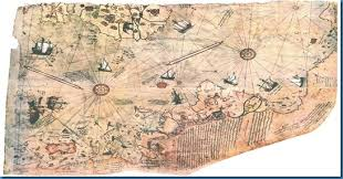 Image result for Piri Reis map of 1513.