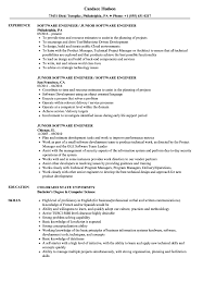 88 Software Engineering Resume Sample Senior Software Engineer