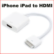 iphone to hdmi. video connector to hdmi tv adapter cable for ipad 2 3 iphone 4-4 iphone hdmi i