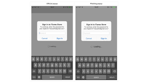 Giving Users Password Can Apple Phishing Attack Into Prompt Id This Away Their