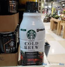 Short (8 fl oz) nutrition information. Spotted Starbucks Cold Brew Coffee Concentrate The Impulsive Buy