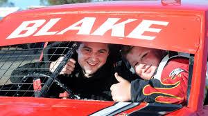 lots of horsepower at jeparit and kalkee photos the wimmera luke mccutcheon and blake walsh at blue ribbon raceway