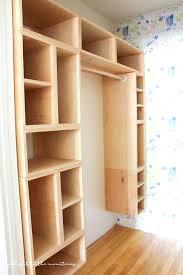 closet plans diy closet walk